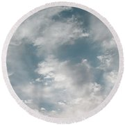 Sky Series - Heavenly Round Beach Towel