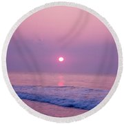 Slither Sun Round Beach Towel