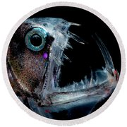 Sloanes Viperfish Round Beach Towel