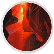 Slot Canyons - 502 Round Beach Towel