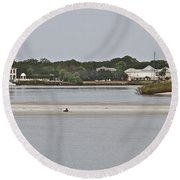 Slow Speed Round Beach Towel