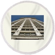 Smith Tower Round Beach Towel