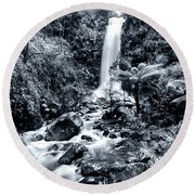 Smooth Waters Round Beach Towel