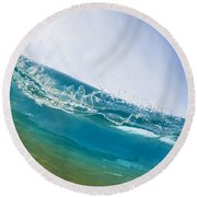 Smooth Wave Round Beach Towel