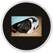 Snuggler Round Beach Towel
