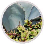 Soft And Sharp Round Beach Towel