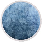 Soft Blue Round Beach Towel