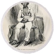 Solomon Northup (1808-?) Round Beach Towel