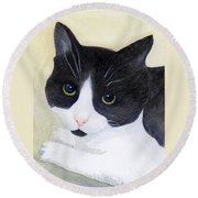 Sophie Round Beach Towel