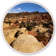 South Fruita Overlook Round Beach Towel