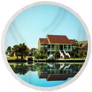 Southern Living Round Beach Towel