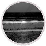 Spell Binding Tides Round Beach Towel