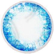 Sphere Energy Round Beach Towel