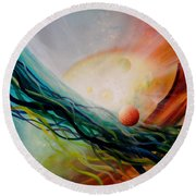 Sphere Gl2 Round Beach Towel