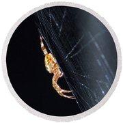 Spider Solitaire Round Beach Towel