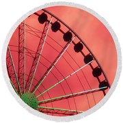 Spinning Wheel Round Beach Towel