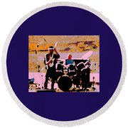 Spirit At The Gorge 29a Round Beach Towel