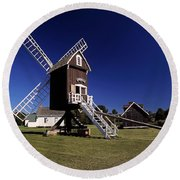 Spocott Windmill Round Beach Towel