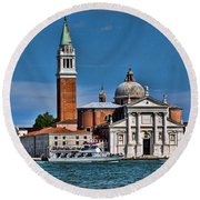 St George's Round Beach Towel