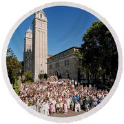 St James Cathedral 2007 Round Beach Towel