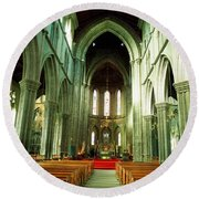 St. Marys Cathedral, Kilkenny City, Co Round Beach Towel
