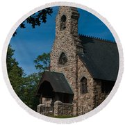 St. Peter's By-the-sea Protestant Episcopal Church Round Beach Towel
