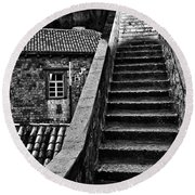 Stairs 3 Round Beach Towel