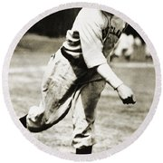 Stan Coveleski (1889-1984) Round Beach Towel