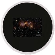 Star Forming Regions Round Beach Towel