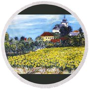 Starkoc Round Beach Towel