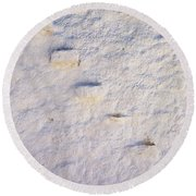 Steps Of The Wall Round Beach Towel