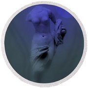 Still Life - Venus From Antiquity Round Beach Towel
