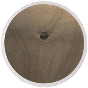 Stone And Sand Round Beach Towel
