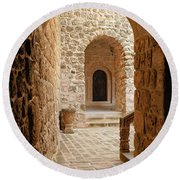 Stone Arches Round Beach Towel