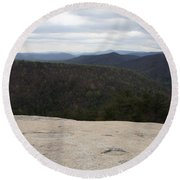 Stone Mountain State Park Round Beach Towel