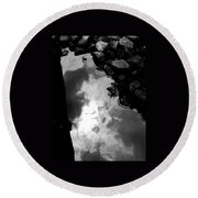 Stoney Reflections Round Beach Towel