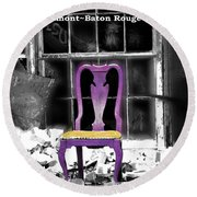 Stories  Belmont Baton Rouge Round Beach Towel