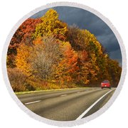Stormin' Through Pennsylvania 2 Round Beach Towel