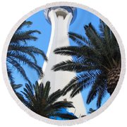 Stratosphere Round Beach Towel