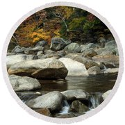 Streamside Color Round Beach Towel