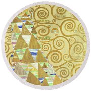Study For Expectation Round Beach Towel