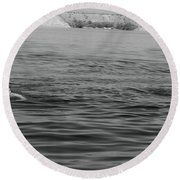 Summer At Lake Mead Round Beach Towel