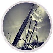 Suncatcher - Instagram Photo Round Beach Towel