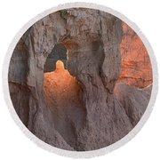 Sunrise Detail Bryce Canyon Round Beach Towel