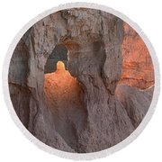 Sunrise Detail Bryce Canyon Round Beach Towel