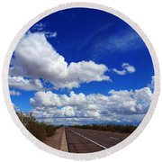 Sunrise Parkway Round Beach Towel
