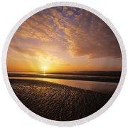 Sunrise, Sandymount Strand Dun Round Beach Towel