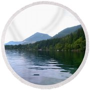 Sunrise2 Round Beach Towel