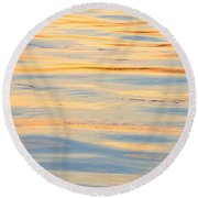 Sunset Reflected - Cooper River Charleston South Carolina Round Beach Towel