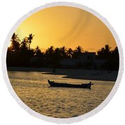 Sunset Two Round Beach Towel